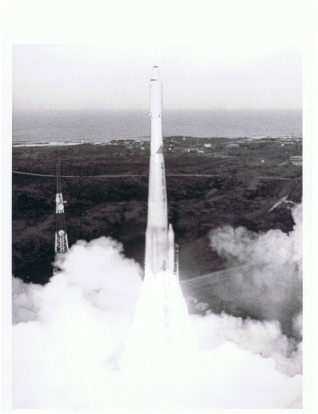 Missile Launch at Vandenberg