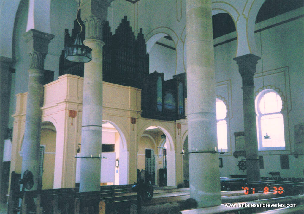 Interior of Cathedral at Gibraltar