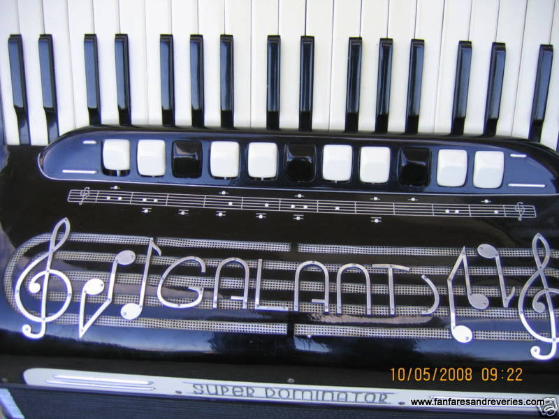 Photo of Galanti accordion