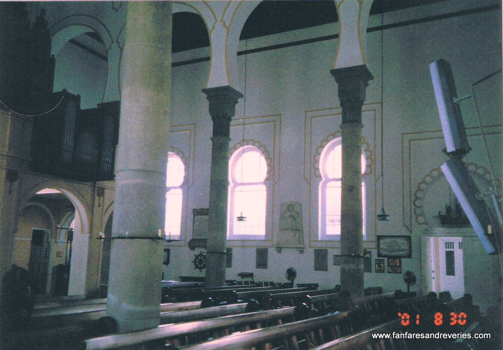 Photo of Cathedral interior.